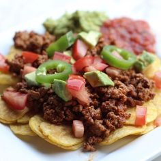 Plantain Nachos Whole 20 approved Recipes  (Instagram: @livewhole365)