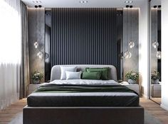 42 Stunning Modern Style Make Great Your Bedroom Again - Elevatedroom Modern Luxury Bedroom, Luxury Bedroom Design, Modern Master Bedroom, Master Bedroom Design, Contemporary Bedroom, Luxurious Bedrooms, Home Decor Bedroom, Interior Design, Bedroom Ideas