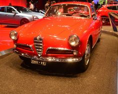 The 1954 Alfa Romeo Giulietta Sprint (Photo: C.C. Weiss/Gizmag)