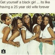 Lol Black don't crack! Also, I know at least one of these womwn is over 40....guess which one!