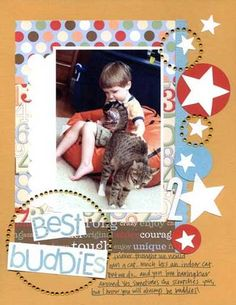 Best Buddies, layout by clairbug