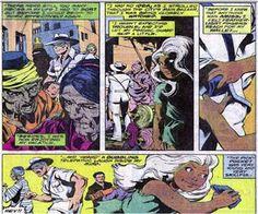 Professor Xavier and young Ororo Munroe. (X-Men Vol.1 #117)