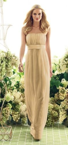 AFTER SIX   STYLE 6556   BRIDESMAID DRESS in Venetian Gold