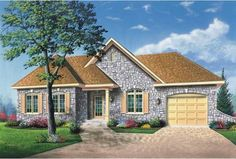 eplans french country house plan hipped roof and keystone arches showing rear home addition line plans elevation