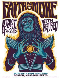 Faith No More - Jeff Lachance - 2015 ----