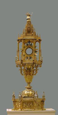 Custodia procesional catedral de Granada