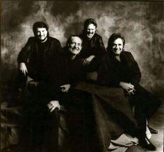 The Highwaymen: Waylon Jennings, Willie Nelson -Johnny Cash and Kris Kristofferson