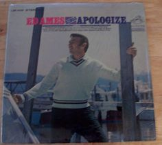 Ed Ames Sings Apologize LP 33 RCA Victor Black Label LSP 4028 Stereo 1968