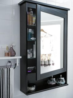 hemnes mirror backlit small ikea bathroom pin of mirrored ideas a cabinet for diy course cabinets