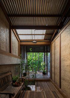 SOnoma Design — archatlas: House in Chau Doc by. Thai House, Asian House, Chau Doc, Tropical Architecture, Contemporary Architecture, Interior Architecture, Tropical House Design, Tropical Houses, Estilo Tropical