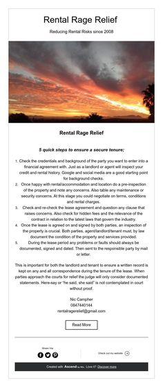 Rental Rage Relief