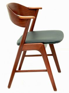 Kai Kristiansen; Teak Dining Chair for K/S Mobelfabrik, c1960.