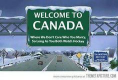 Welcome to Canada !