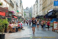 Rue Cler - place to grab picnic stuff right next to eiffel tower- A Famous Food Street in the 7th Arrondissement