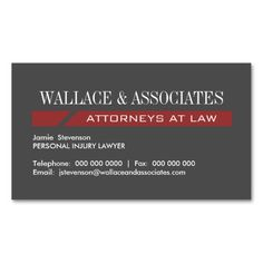 271 best lawyer business cards images on pinterest card patterns attorney business cards fbccfo Images