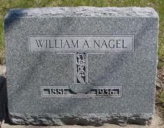 NAGEL, WILLIAM A. - Sac County, Iowa | WILLIAM A. NAGEL