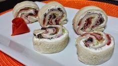 Tres sencillos entrantes con pan de molde | Cocinar en casa es facilisimo.com