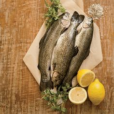 Grilled Rainbow Trout Recipe