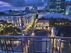 "View from ""Saigon Saigon"" bar , Caravelle Hotel , Saigon by martywindle (expat yorkshire), via Flickr"