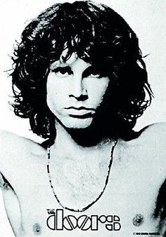 Jim Morrison Open Arms Fabric Poster Flag