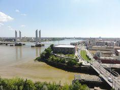 Vue du 7 - blog Bar a Voyages #france #bordeaux #gironde #vue #view #pont #bridge