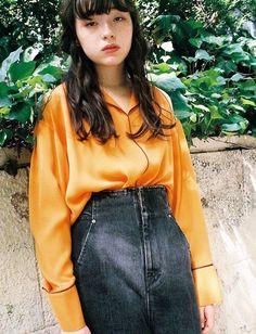 Japan Fashion, 90s Fashion, Girl Fashion, Womens Fashion, I Love Girls, Cute Girls, Attractive People, Japanese Models, Beauty Photos