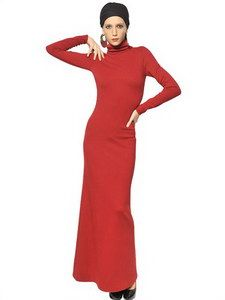 Jean-Paul Gaultier - Wool Punto Milano Long Dress   FashionJug.com
