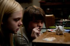 elle fanning super 8 movie photos | Elle Fanning and Joel Courtney star in the dramatic film Super 8 .