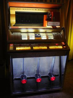 Seeburg KD-200 Jukebox 1957 200 selection 45rpm with 200 selection drum KD #Seeburg