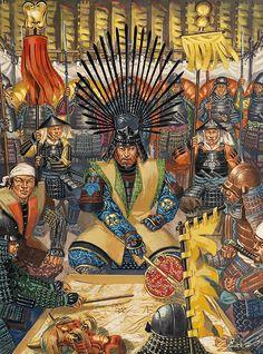 Hideyoshi in command, Yamazaki 1582 - La Pintura y la Guerra. Sursumkorda in memoriam.