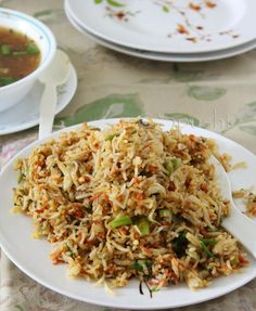 Chinese Fried Rice: Indo-Chinese Food Spusht | Vegetarian Recipes, How-To Posts, Entertaining Ideas, Travelogue, and more: