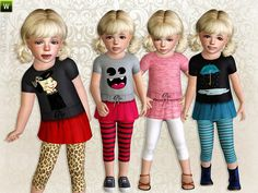 Style Spotting tee by Lillka - Sims 3 Downloads CC Caboodle
