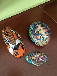 Pesciolini dipinti a mano