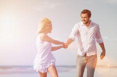 Nauč se cítit svoji ženu, nebo ji ztratíš   Harmonický Vztah.cz White Dress, Couple Photos, Couples, Mens Tops, Fashion, Psychology, Couple Shots, Moda, Fashion Styles