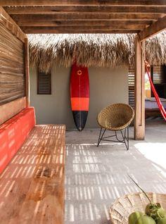 Relax area at Hotel Escondido ♡ #BohoLover http://amberlair.com