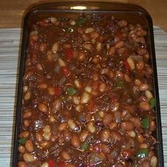 about Calico Beans Recipe on Pinterest | Calico Baked Beans, Beans ...