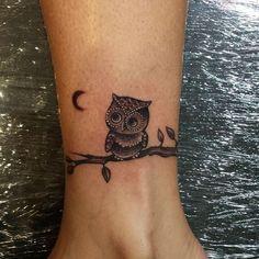 tatuagem de coruja para casais - Pesquisa Google