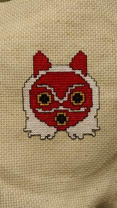 Mononoke Mask Cross Stitch - Imgur