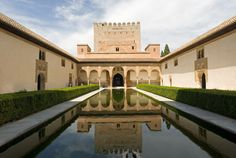 Alhambra Palace, Spain. #Travel #Spain #AlhambraPalace