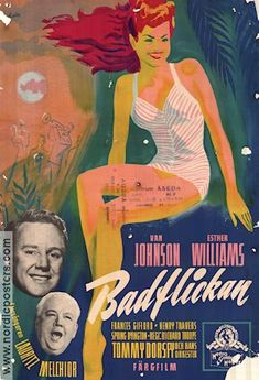 Thrill of a Romance 1945 Movie poster Esther Williams
