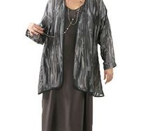 Mother of the Bride Plus Size Jacket Dress Gray Ombre Dressy Silk Plus-Size Daisy Jacket Dress Custom Made SHOP NOW: Unique jackets for women Sizes 14 - 36, mother of the bride, special occasion, artwear, elegant and unique women's clothing,xoPeg #PeggyLutzPlus #PlusSize #style #plussizestyle #plussizeclothing #plussizefashion #womenstyle #womanstyle#springwedding #summerstyle #fallstyle #fallfashion #formal  #couture #divastyle #pluswedding #plusbridal