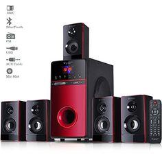 Truvison SE-7777 20000 Watts 5.1 Multimedia Speaker System USB FM AUX MMC Playback Support Bluetooth Sound Clarity