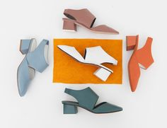 Gray Matters, the New Shoe Brand With a Fresh Take on the Block Heel Trend - Rackedclockmenumore-arrow : Buy them before everyone else does.
