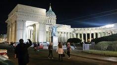 Monumentos em São Petersburgo  (Rússia ) by night