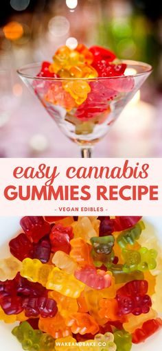 Weed Recipes, Marijuana Recipes, Cannabis Edibles, Fun Baking Recipes, Healthy Dessert Recipes, Vegan Recipes, Gummy Recipe, Homemade Gummies, Vegan Gummies