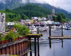 ketchikan, alaska. summertime alaska is a dream