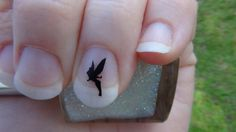 Tinkerbell Nail Art Decals Style2 Set of 20 Vinyl by thefogshoppe, $4.99