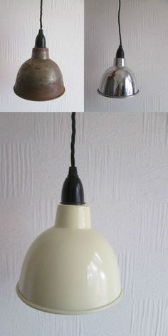 Vintage industrial benjamin enamel factory pendant ceiling light dome industrial factory enamel vintage retro old style pendant light lamp shade aloadofball Images