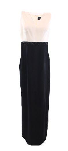 Adrianna Papell NEW Black White Colorblock Women's 16 Sheath Dress Set $299