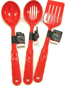 Red Melamine Kitchen Tools Case Pack 12